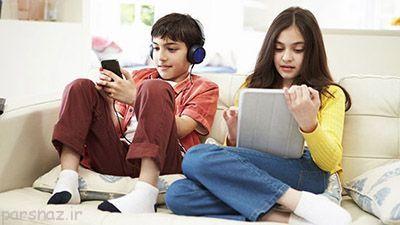 کودکان و وسایل دیجیتال نیازمند توجه والدین