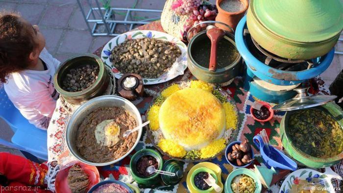 برگزاری جشنواره غذا در رشت شهر غذای ایران