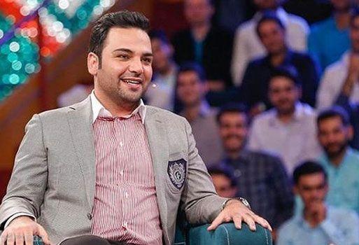 عکس مجری محبوب احسان علیخانی در برنامه خندوانه