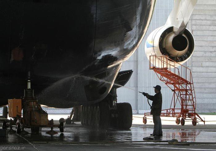 بزرگترین هواپیماهای جهان به روایت تصویر
