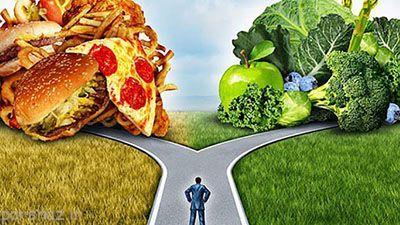 چگونه بهتر و سالم تر غذا بخوریم