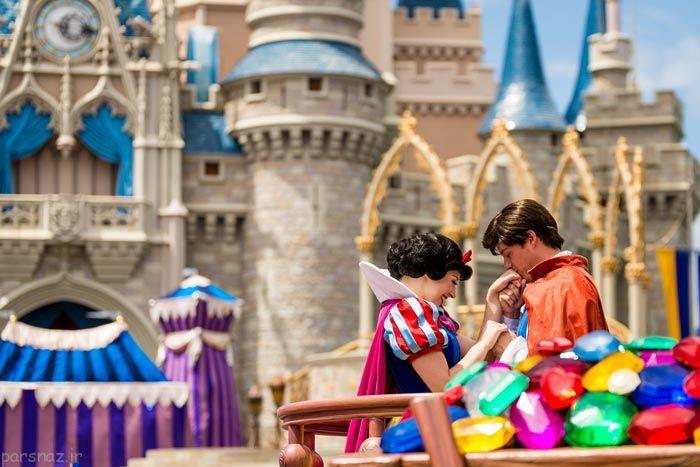 سفر به سرزمین والت دیزنی و سرگرمی های اعجاب انگیز