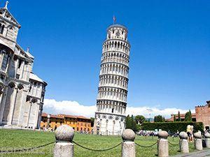 معرفی برج کج پیزا ایتالیا