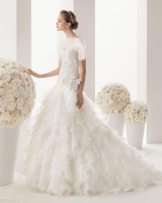 ژورنال جدیدترین لباس های عروس