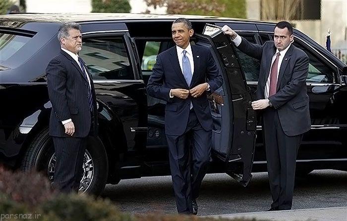 اتومبیل امنیتی اوباما رئیس جمهور آمریکا چه خصوصیاتی دارد