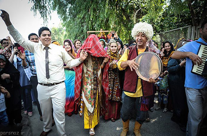 آداب و رسوم عروسی اقوام ترکمن +عکس