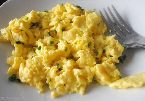 نیمروی عالی و خوشمزه برای صبحانه درست کنیم