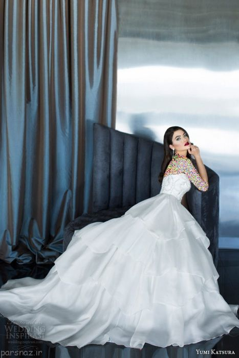 عکس های زیبا از ژست های جذاب عروس