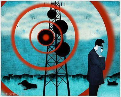 امواج خطرناک موبایل تا چه فاصله ای پخش می شوند