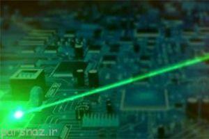 تولید نوعی لیزر از سیلیکن برای ساخت رایانه های نوری