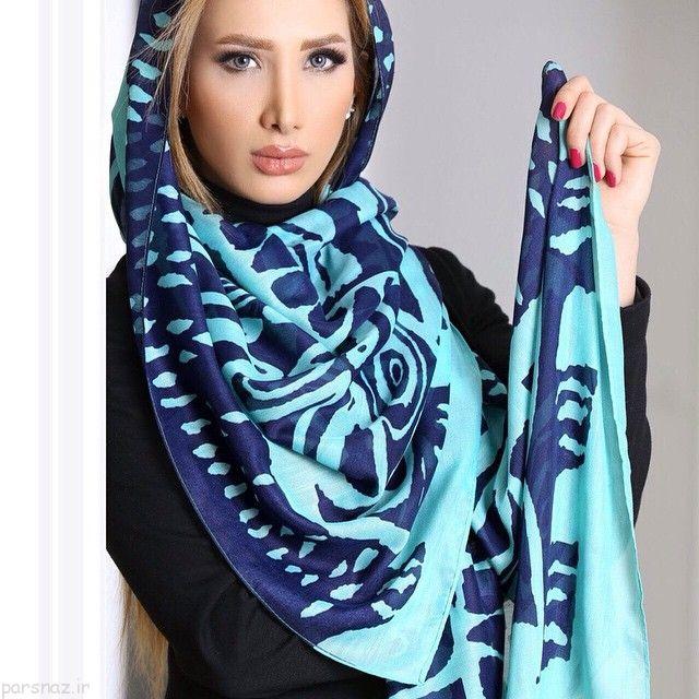عکس های شیک از مدل های شال و روسری دخترانه