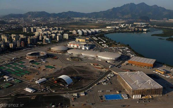 گزارش تصویری از آماده سازی ریو برای المپیک 2016