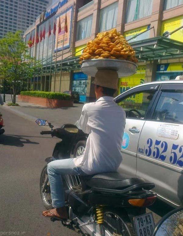 عکس های خنده دار و جالب از مردم سراسر قاره آسیا