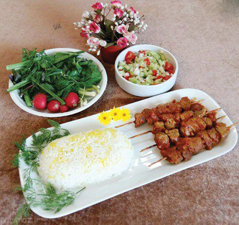 انواع غذاهای بومی مشهد، رامسر و اصفهان