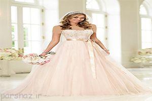 عکس های انواع مدل های لباس زیبای عروس جدید