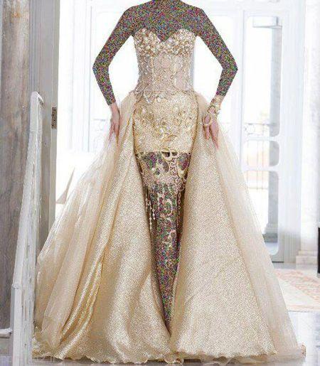 مدل های لباس نامزدی 2017