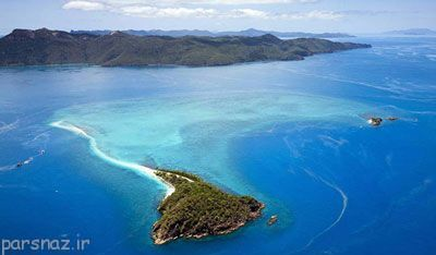 جزایر عجیب جهان از نظر شکل ظاهری آنها