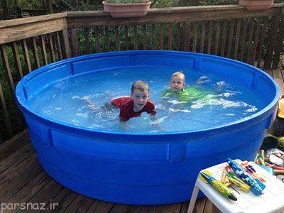 اموزش شنا به کودکان را از چه زمانی شروع کنیم؟
