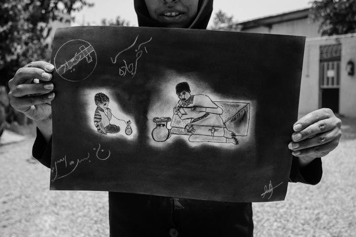 ترک اعتیاد بانوان ایرانی در کمپ + عکس