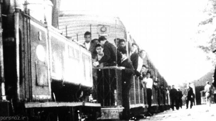 چگونگی سفر با قطار در طول زمان