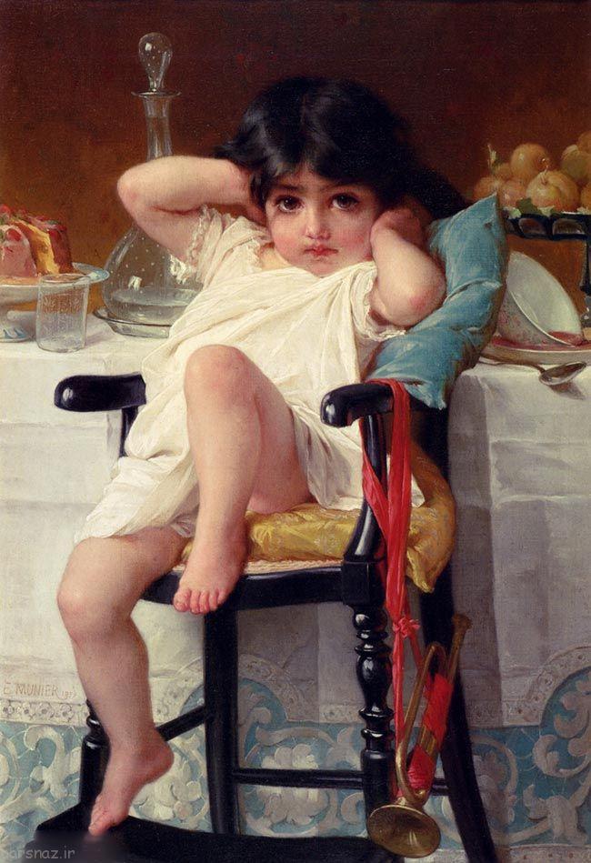 عکسهای نقاشی کودکان توسط هنرمند فرانسوی
