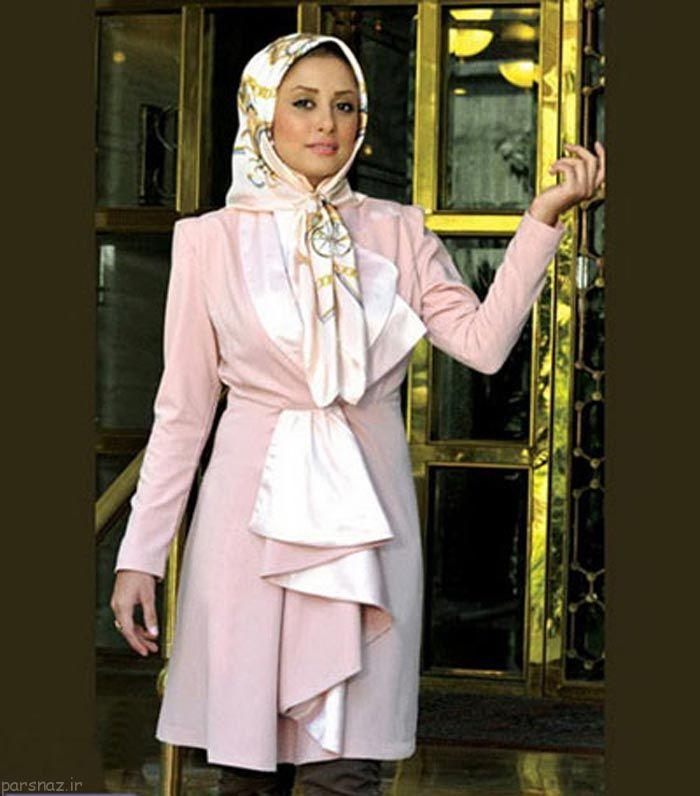 ژورنال مدل های مانتو با حجاب کامل