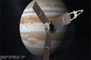 فضاپیمای جونو ناسا در مرز خورشید و مشتری