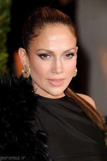 انواع مدل های آرایش به سبک جنیفر لوپز