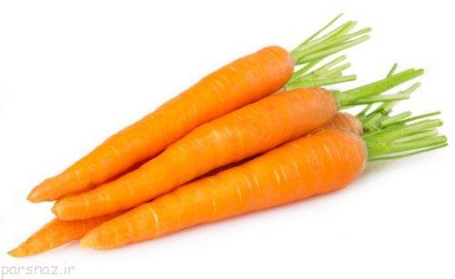 خواص هویج را بطور کامل بشناسیم