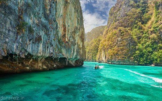 بهترین آرامش در کنار زلال ترین آب های دنیا