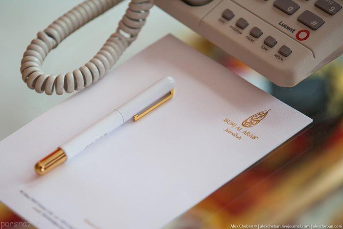 هتل برج العرب دبی به روایت تصویر