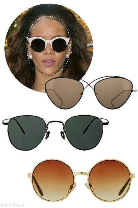 چه مدل عینک آفتابی برای صورت شما مناسب است؟