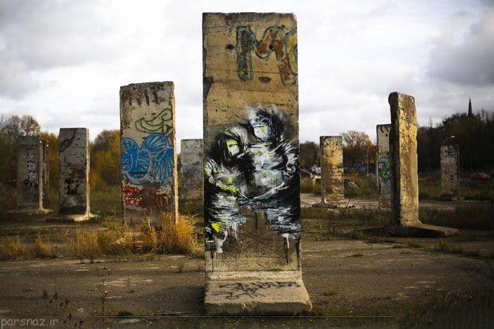 همه چیز درباره دیوار برلین به روایت عکس