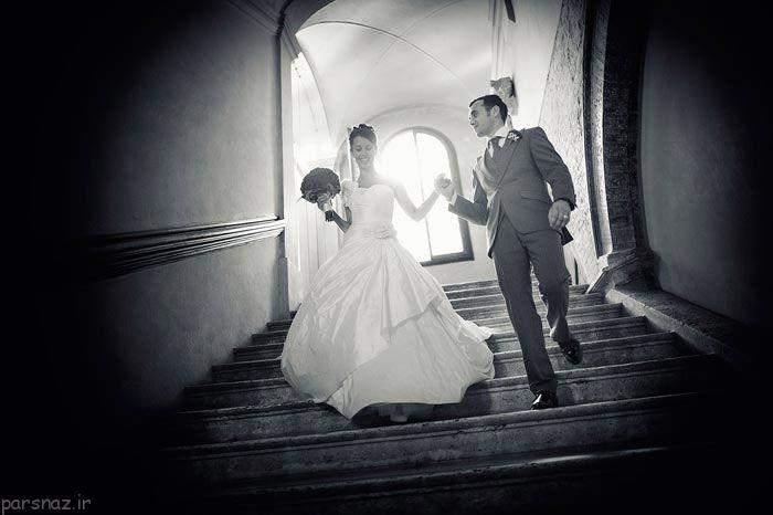 عکس عاشقانه عروسی