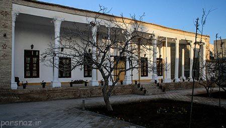 عکس های زیبا از عمارت باغ امیر سمنان