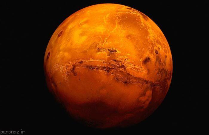 مطالبی جالب درمورد سیاره مریخ! +عکس