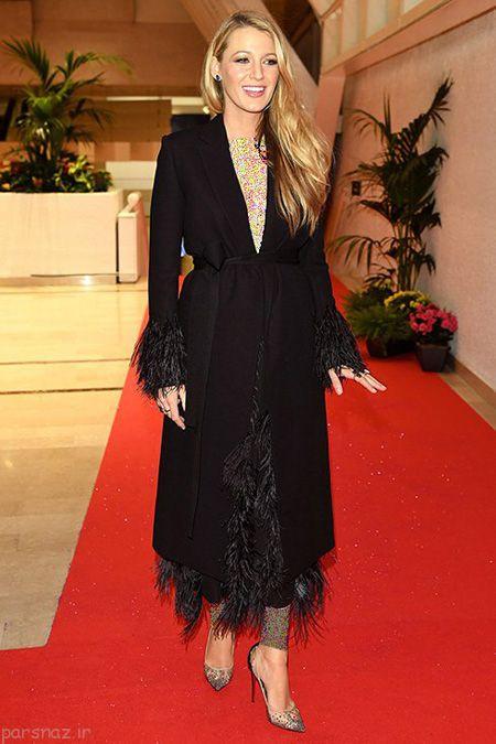تصاویری از مدل لباس بارداری بلیک لایولی در کن