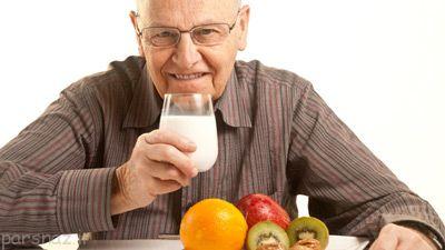 رژیم غذایی مناسب برای سالمندان