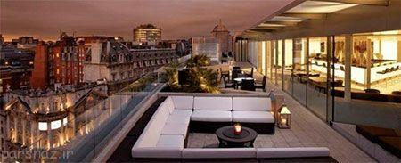 پشت بام رویایی هتل های معروف جهان را ببینید