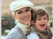 مشهورترین خواننده سلین دیون و پسرش