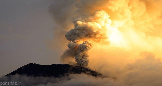 فوران همه آتشفشان ها و فاجعه بعد از آن