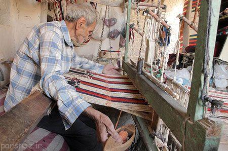 با ابریشم بافی در ایران آشنا شویم