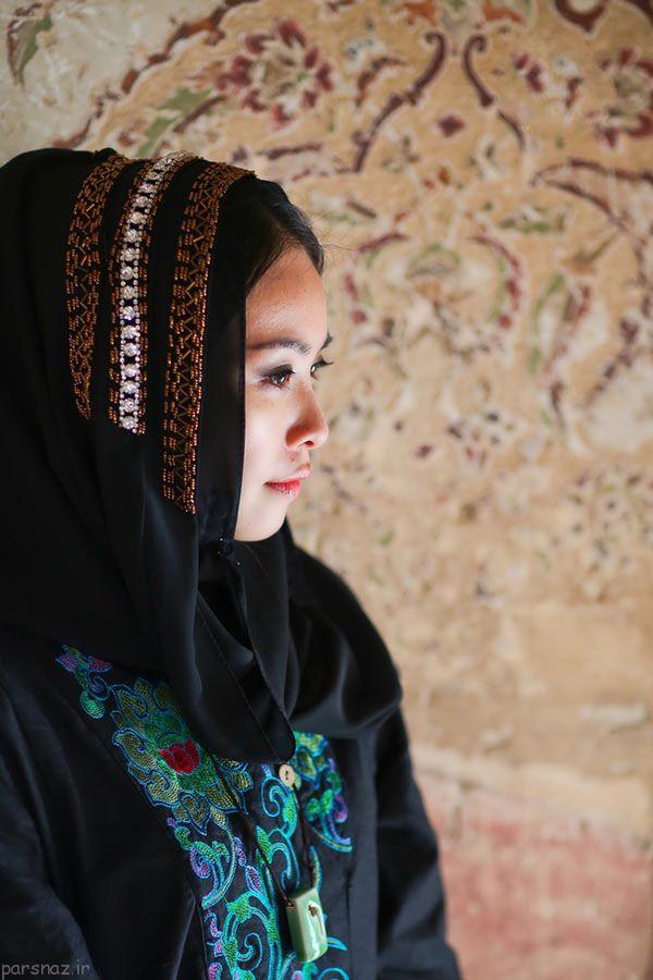 دختر خوش لباس چینی در ایران +عکس
