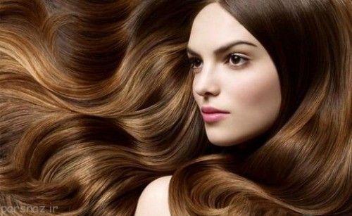 چگونه موهای درخشانی داشته باشیم؟