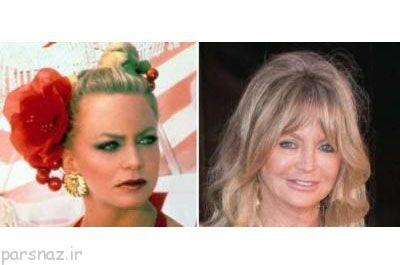 تاثیر زمان و تغییر چهره بازیگران هالیوود