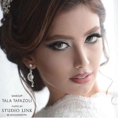 جدیدترین مدل های شینیون و آرایش صورت عروس