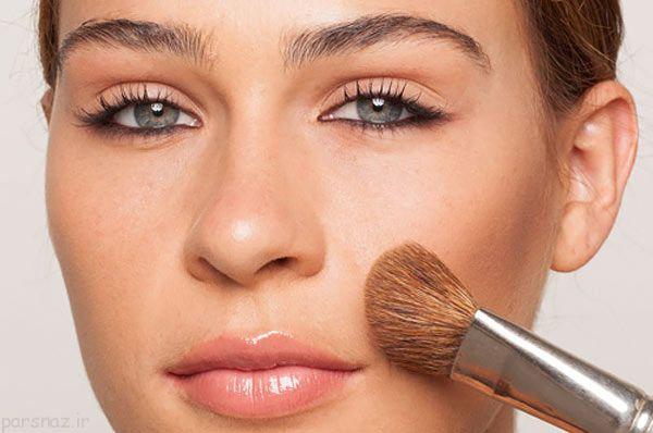 نکاتی درباره گریم و آرایش صورت خانم ها