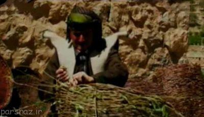 صنایع دستی سبدبافی در کردستان