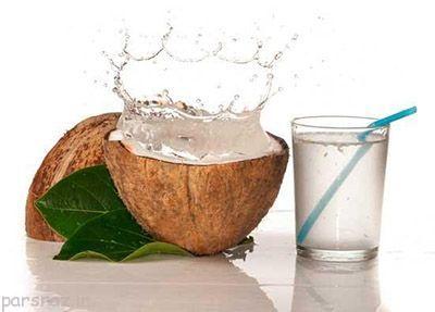 آب نارگیل برای فصل تابستان مناسب است