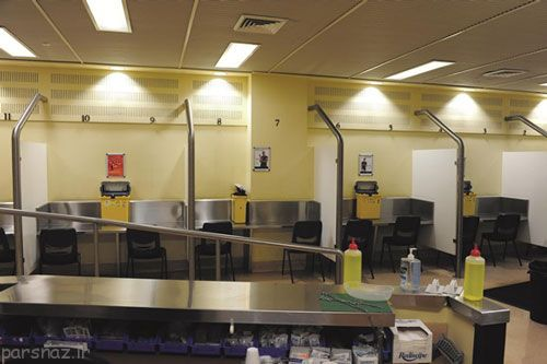 اتاق مخصوص مصرف مواد مخدر در ایران را ببینید